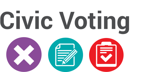 Civic Voting Logo