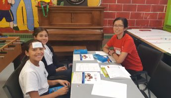 HSBC Family Literacy First event in Montreal