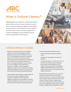 What is Cultural Literacy?