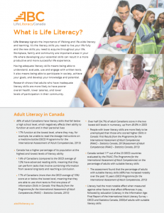 What is Life Literacy?