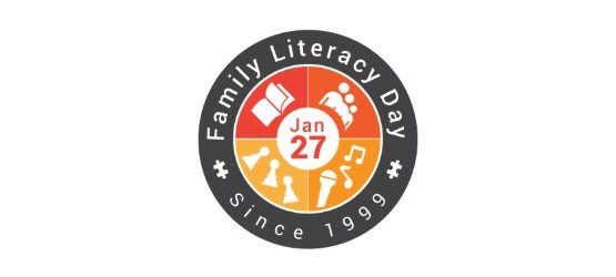Family Literacy Day logo