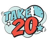 Take 20 logo